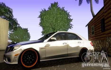 Mercedes Benz E63 DUB для GTA San Andreas вид слева