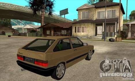 VW Gol GL 1.8 1989 для GTA San Andreas вид справа