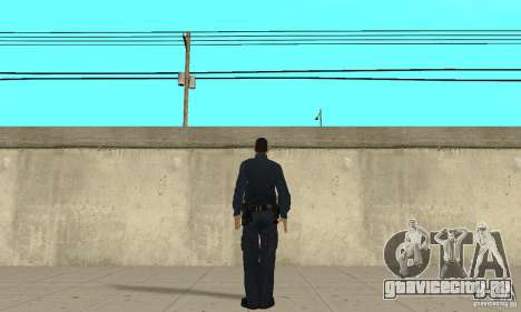 Полицейский из GTA 4 для GTA San Andreas третий скриншот