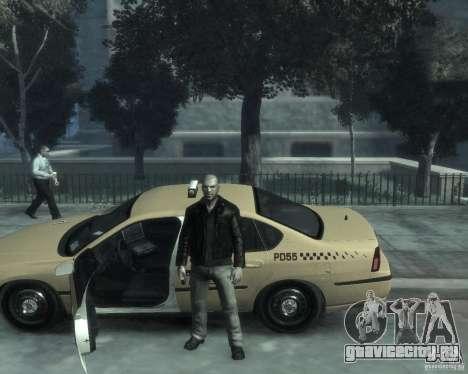 Chevrolet Impala 2003 Taxi для GTA 4 вид снизу
