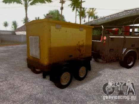 Trailer Generator для GTA San Andreas вид сбоку