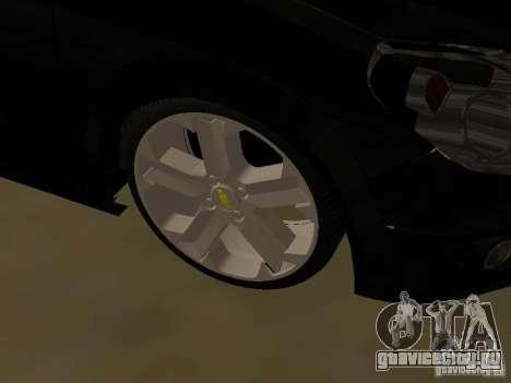 Chevrolet Vectra Elite 2.0 для GTA San Andreas вид изнутри