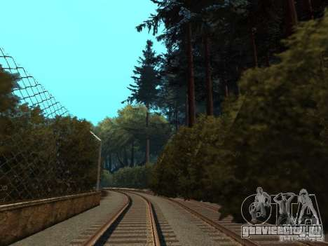 Лес в Las Venturas для GTA San Andreas восьмой скриншот