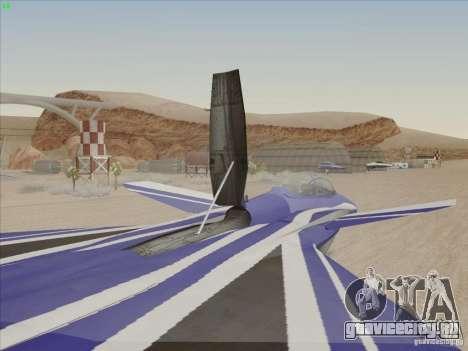 F-15 SMTD для GTA San Andreas вид сбоку