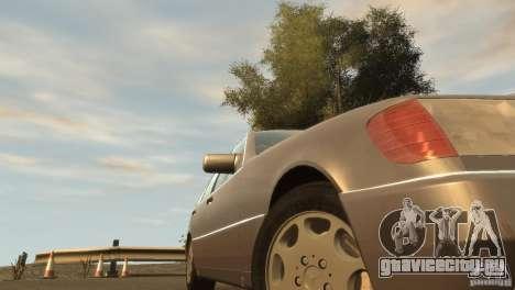 Mersedes-Benz 500SE Wheels 2 для GTA 4 вид сзади