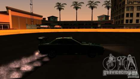 Elegy v0.2 для GTA San Andreas вид сзади