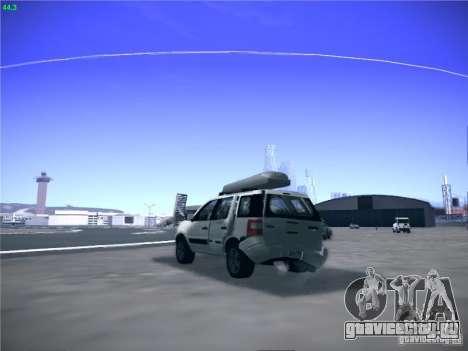 Ford EcoSport 2008 для GTA San Andreas вид справа