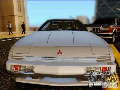 Mitsubishi Starion ESI-R 1986 для GTA San Andreas вид сзади слева