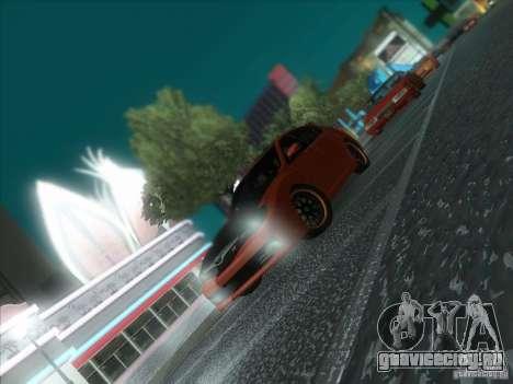 Subaru Impreza WRX STi для GTA San Andreas салон
