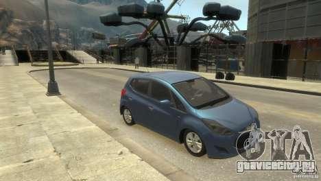 Hyundai IX20 2011 для GTA 4 вид сзади слева
