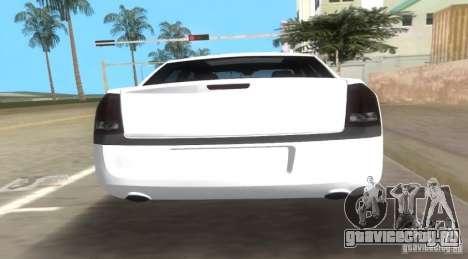 Chrysler 300C SRT V10 TT Black Revel 2011 для GTA Vice City вид сзади слева