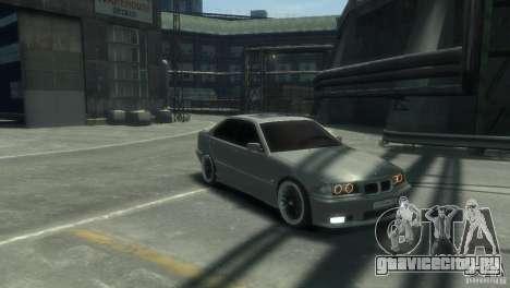 BMW 318i Light Tuning для GTA 4 вид сзади слева
