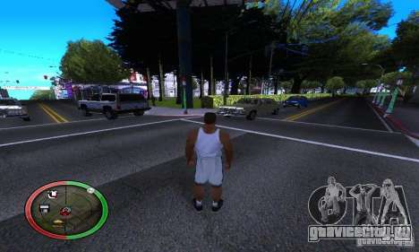 NEW STREET SF MOD для GTA San Andreas четвёртый скриншот