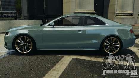 Audi S5 v1.0 для GTA 4 вид слева