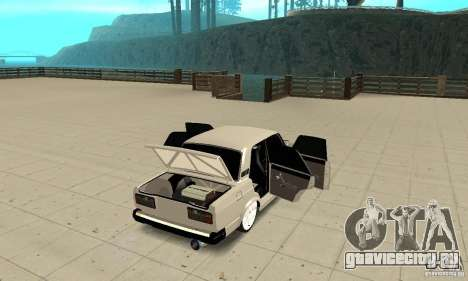Открыть или Закрыть багажник для GTA San Andreas третий скриншот