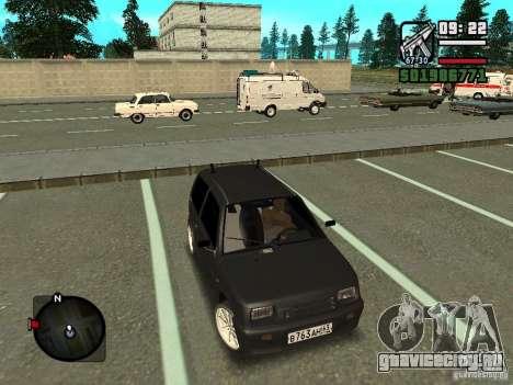 ВАЗ 11113 ОКА для GTA San Andreas