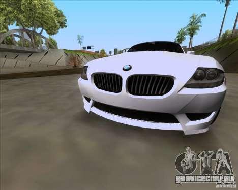 BMW Z4 M Coupe для GTA San Andreas вид справа