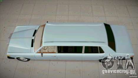 Rolls-Royce Silver Spirit 1990 Limo для GTA San Andreas вид справа