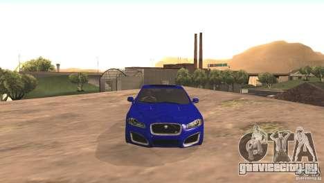 Jaguar XFR 2012 V1.0 для GTA San Andreas вид слева