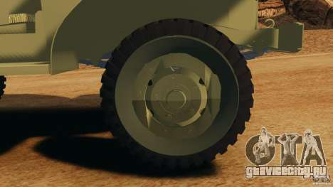Dodge WC-62 3 Truck для GTA 4 вид сбоку