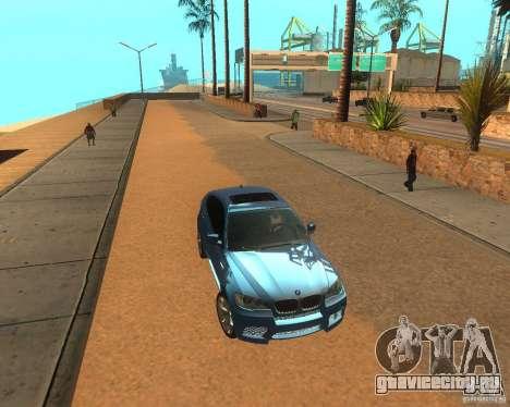 BMW Motorsport X6 M v. 2.0 для GTA San Andreas вид слева