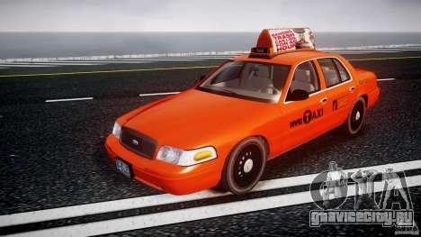 Ford Crown Victoria 2003 v.2 Taxi для GTA 4