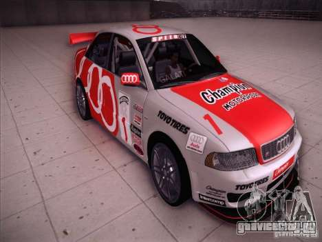 Audi S4 Galati Race для GTA San Andreas вид сзади