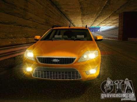 Ford Mondeo Sportbreak для GTA San Andreas вид сзади