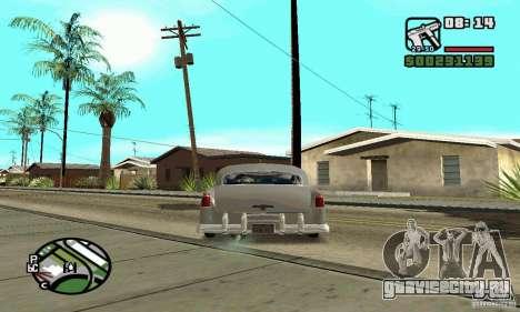 Houstan Wasp (Mafia 2) для GTA San Andreas вид сзади слева