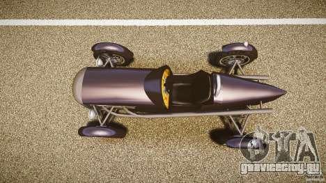 Vintage race car для GTA 4 вид справа
