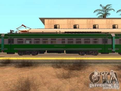 ЭД9М 0132 для GTA San Andreas вид слева