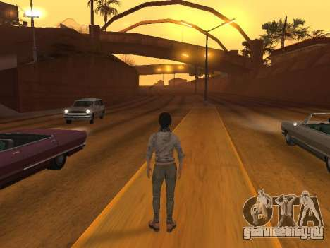 FaryCry 3 Liza Snow для GTA San Andreas четвёртый скриншот