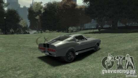 Ford Shelby GT500 Eleanor для GTA 4