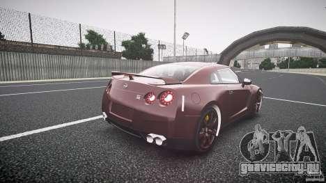 Nissan GT-R R35 2010 для GTA 4 вид сбоку