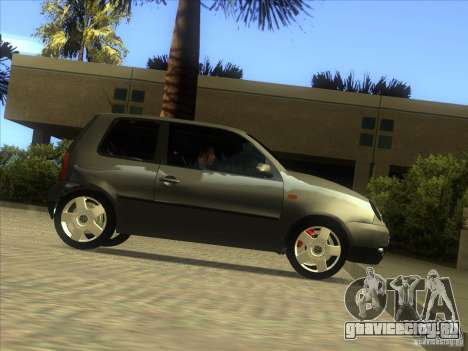 Volkswagen Lupo для GTA San Andreas вид сбоку