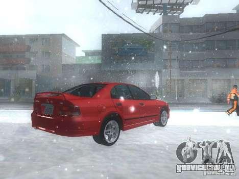 Mitsubishi Galant VR6 для GTA San Andreas вид справа