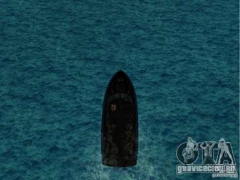 Squalo из Grand Theft Auto IV для GTA San Andreas вид слева