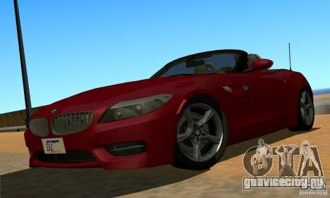 BMW Z4 2010 для GTA San Andreas