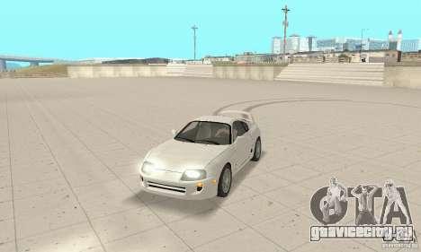 Toyota Supra 1998 stock для GTA San Andreas