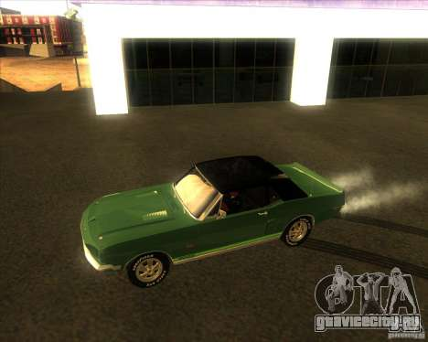 Shelby GT500KR convertible 1968 для GTA San Andreas