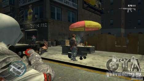 Assassins Creed BrotherHood - Ezio Auditore для GTA 4 второй скриншот