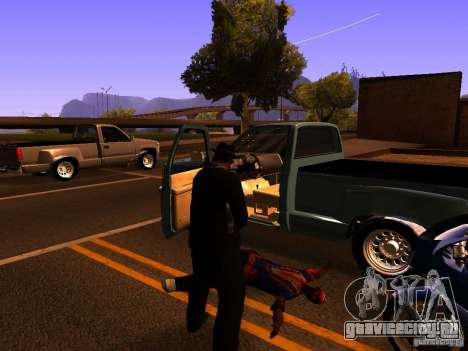 Pancor Jackhammer для GTA San Andreas пятый скриншот