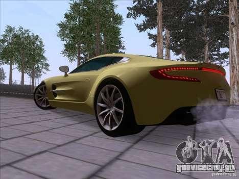 Aston Martin One-77 2010 для GTA San Andreas вид слева