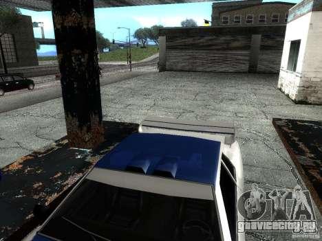 Винил с BMW M3 GTR в Most Wanted для GTA San Andreas вид сзади