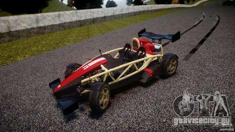 Ariel Atom 3 V8 2012 Custom Mugen для GTA 4 вид изнутри