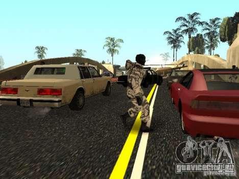 Арктический Мститель для GTA San Andreas четвёртый скриншот