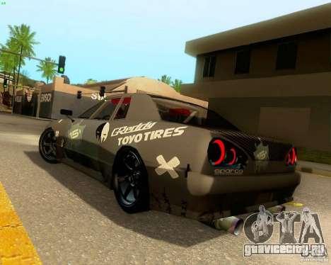 Elegy Drift Korch для GTA San Andreas двигатель