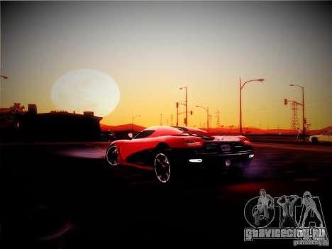 Realistic Graphics 2012 для GTA San Andreas второй скриншот