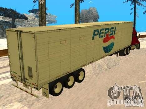 Trailer Artict3 для GTA San Andreas вид сзади слева