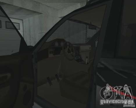 Внедорожник из NFS для GTA San Andreas вид сверху